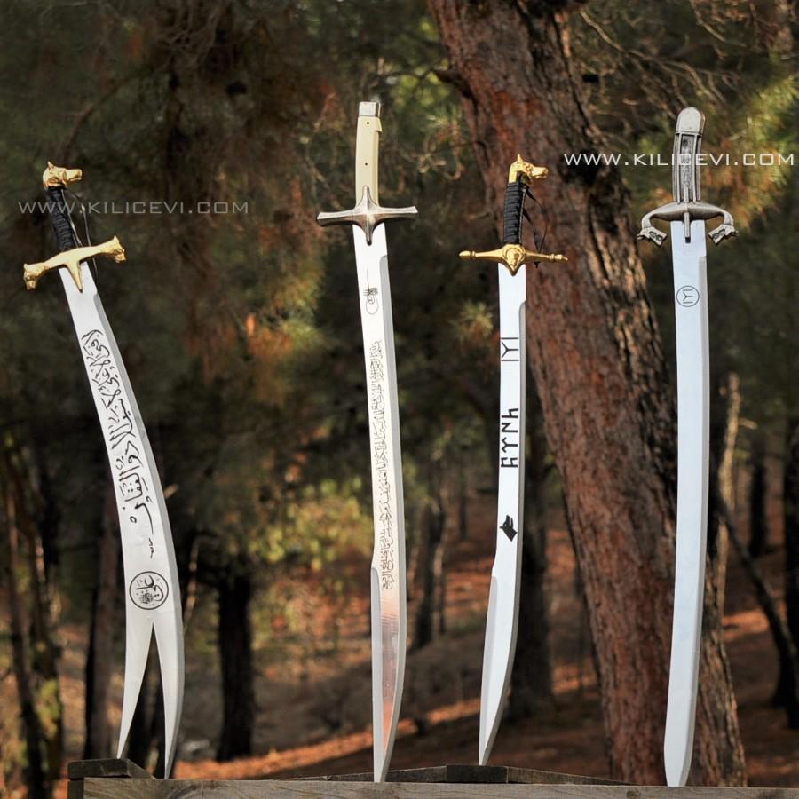 4'lü Osmanlı Kılıç Seti